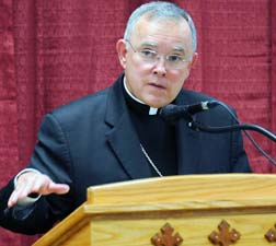 Archbishop Charles Chaput says much mass media coverage if religion is ill informed and hostile.