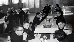 Life at St. Joseph Seminary can be seen in this photo taken in the era immediately after the Second Vatican Council.
