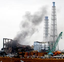 Smoke seen coming from the area of the No. 3 reactor of the Fukushima Dai-ichi nuclear power plant sparks fear and concern about the safety of nuclear energy.
