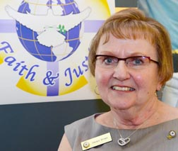 Gladys Brown of Fort Saskatchewan will be the CWL's diocesan president for two years.