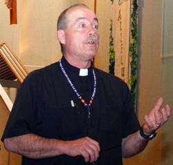 Fr. Jim Corrigan says he would love to meet more of the Catholics who rarely attend Mass.
