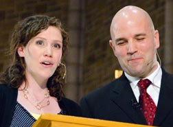 Nadine and Cam MacDonnell shared their faith and life journey, with an emphasis on the future