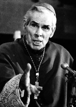 Archbishop Fulton Sheen began media evangelization on radio in the 1920s and moved to TV with his Life is Worth Living show in the 1950s.