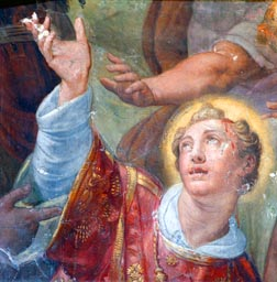 Opponents of the Christian faith responded to St. Stephen's apologetics by killing him.