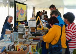 The Catholic Family Life Conference gives parents a chance to stock up on educational materials for children and adults alike.