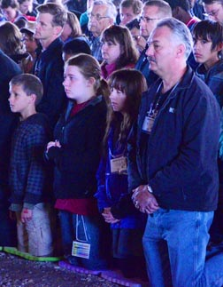 About 500 families from across Western Canada came to Lac Ste. Anne for a weekend of renewal.