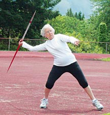 At age 92, Olga Kotelko still competes in track meets around the world