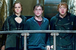 "Emma Watson, Daniel Radcliffe and Rupert Grint star in a scene from the movie ""Harry Potter and the Deathly Hallows — Part 2."""