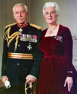 Georges and Pauline Vanier are candidates for sainthood.