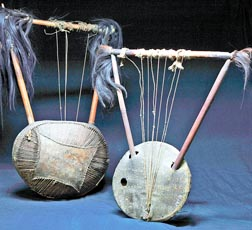 Ethiopian string instruments made out of gourd, reptile skin and hair are part of the Vatican Museums' ethnological collection.