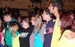 Hundreds of youth from across central and northern Alberta attended the annual archdiocesan youth rally Oct. 15.