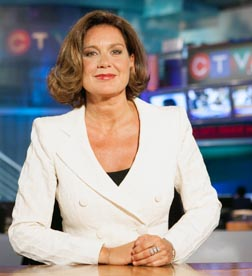 Lisa LaFlamme won one of the nation's top news spots as anchor of CTV's evening news.