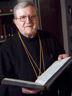 Jesuit Father Robert Taft, one of the foremost experts on Byzantine liturgy, is returning to the U.S. After more than 46 years in Rome.
