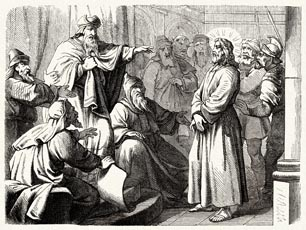 The Jewish high priest Caiaphas sacrificed Jesus so that the nation would be saved.
