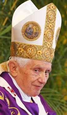 Pope Benedict celebrates Mass in Revolution Square in Havana March 28. During the service the pope called for full religious freedom and greater respect for human rights in Cuba.