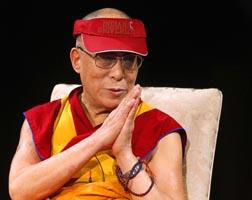 The Dalai Lama was named as the winner of the 2012 Templeton Prize.