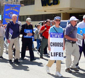 The Knights of Columbus are intending to have a higher profile at this year's March for Life in Edmonton on May 17.