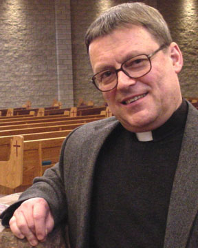 Fr. Paul Terrio has been named president of Newman Theological College