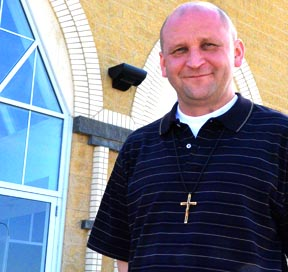 The priesthood is about washing feet, it's about walking and journeying with the people. - Fr. Frank Kucera, omi |Pastor of St. Charles Parish is happy doing the Lord's work