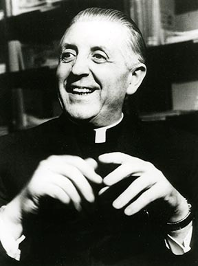 Cardinal Leo Jozef Suenens played a key role in bringing unity to the Second Vatican Council.