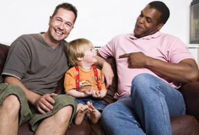All families try to do their best for children, but children from same-sex relationships did less well than those from biologically-intact families, according to one study.