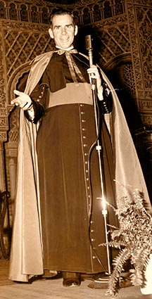 Archbishop Fulton Sheen was an Emmy-winning televangelist.