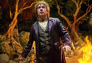 Bilbo Baggins in the Hobbit: An Unexpected Journey finds the path to self-sacrificing love.