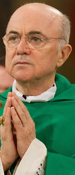 Archbishop Caerlo Maria Vigano was named apostolic nuncio to the United States shortly after writing a letter to Pope Benedict criticizing corruption and abuse of power in various Vatican departments.
