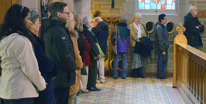 Lineups for the sacrament of Penance were long throughout the day at St. Joseph's Basilica March 6 during the archdiocesan Day of Reconciliation.