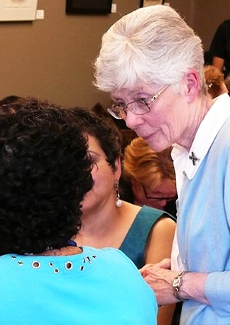 Sr. Mary Clare Stack is coordinator of Catholic Social Services' parish relations program.