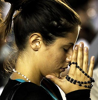 Praying the rosary requires 'a quiet rhythm and a lingering pace,' says Blessed John Paul II.