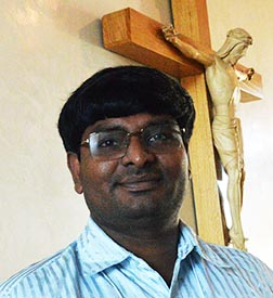 Fr. Raju Arockiadoss says he gives thanks for the opportunity to minister in Canada.