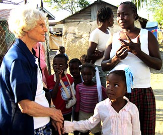 Sr. Mary Alban Bouchard spent 20 years walking with the poor in Haiti.