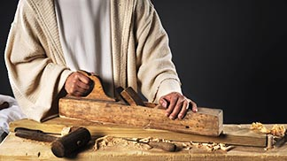 The lay faithful share in Christ's offices of priest, prophet and king through the ordinary events of daily life.