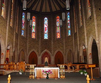 The 100-year-old basilica was built despite many challenges faced by parishioners.