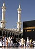 Muslims making the Hajj