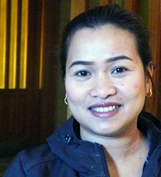 Chan Barro says she hopes Pope Francis' visit to the Philippines will bring people closer to God.