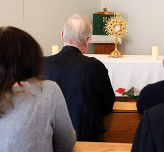 Adoration of the Blessed Sacrament has been going on non-stop for nearly 10 years at Corpus Christi Chapel on Edmonton's west side.