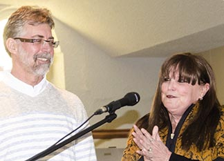Kevin and Mona Lee Feehan shared moments from their 39-year marriage at World Marriage Day in St. Albert Feb. 8.
