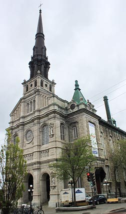 St. John the Baptist Church in Quebec City is among the prominent churches in the province which are being closed due to a lack of parishioners and exorbitant operating costs.