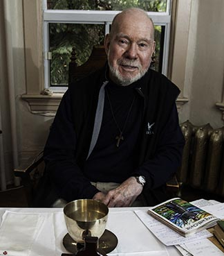 Friar Joe MacDonald gives a home to homeless ex-psychiatric patients.