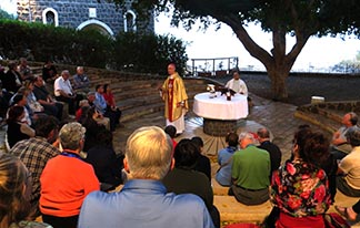 Archbishop Richard Smith led a Holy Land pilgrimage for 78 pilgrims from Alberta, BC and Nova Scotia, Nov. 21 to Dec. 4.