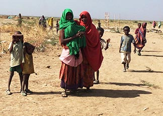 The Ethiopian government says more than 10 million people need emergency food aid because of drought.
