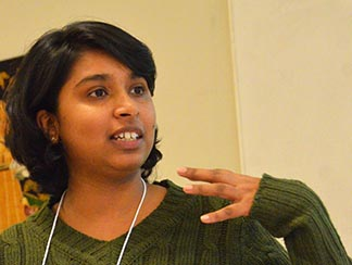 Development and Peace regional animator Anupama Ranawana asks people to respond to the damage we cause Mother Earth.