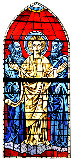 Moses, Jesus and Elijah 'appeared in glory.' - Luke 9.30-31