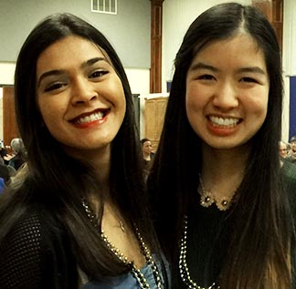 Kira Dawson and Lan Truong are among those gearing up for this year's World Youth Day.