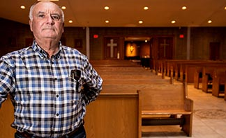 Oreste Campeotto is happy that Toronto's St. Roch Church has stood the test of time.