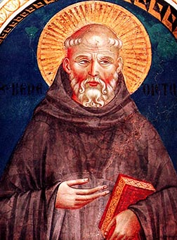 St. Benedict developed a rule for monks which emphasized the importance of listening.