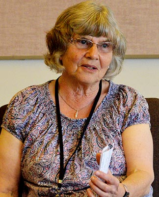 British spiritual writer Margaret Silf led a retreat at Providence Renewal Centre June 24-26.