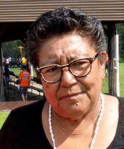 Bernice Cardinal has seen many people healed at Lac Ste. Anne over the past 40 years.